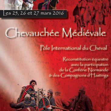 Chevauchée Médiévale, Deauville, 25 26 et 27 mars 2016